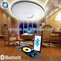 contemporary semi flush ceiling lights with led iphone control light
