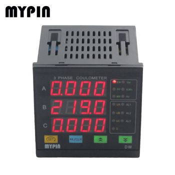 High quality DW93 110/220V AC 50/60Hz 3 phase current voltage frequency meter
