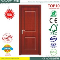 Cheapeast made in china teak wood front door design