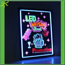 Electronic Luminous LED Writing Board for Advertising