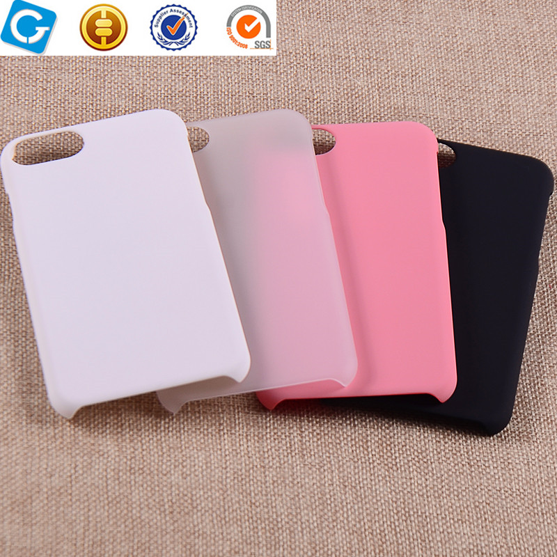 Factory Price PC Rubber Coating Hard Cover For iPhone 7 Case