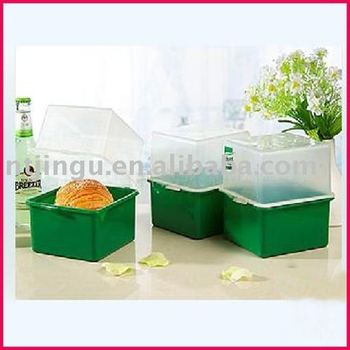 plastic bread container