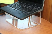 NEW LARGE ACRYLIC COMPUTER MONITOR KEYBOARD PRINTER COPIER LAPTOP STAND
