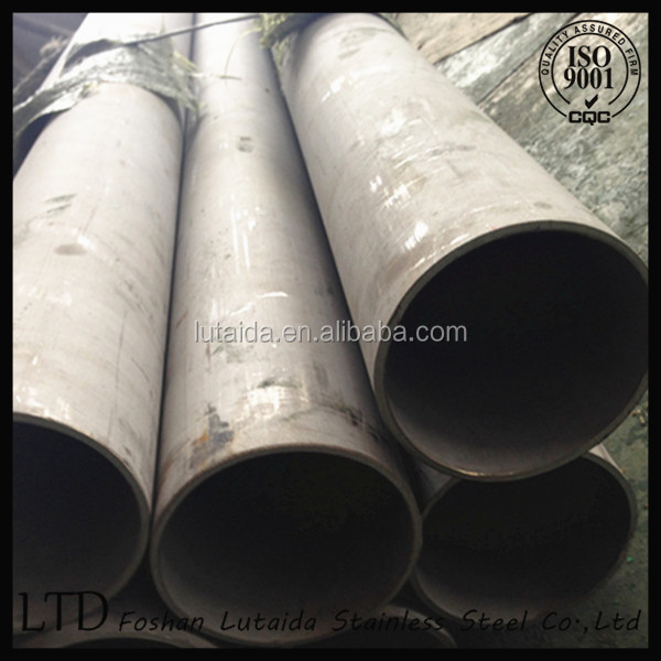 Seamless Stainless steel pipe grad 201 304