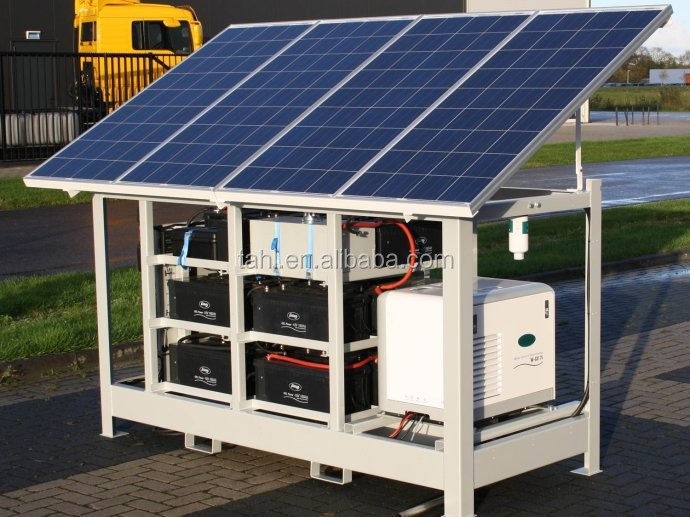 off grid 5kw solar panel system for home use