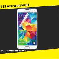 Super high quality clear screen guard for Samsung for Galaxy S5 mini G800 transparent clear screen protector