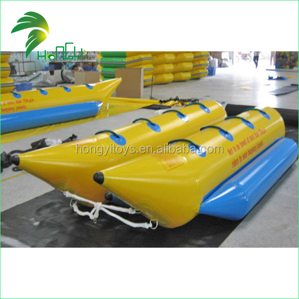 High Quanlity Customized Inflatable Banana Boat, Cheap Banana Boats For Water Games