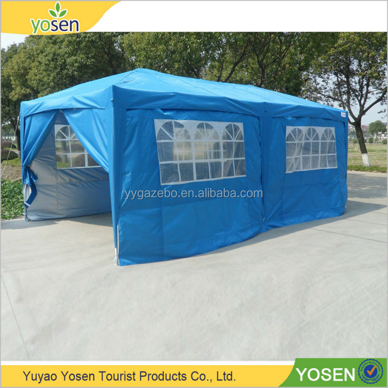 Beautiful and practical steel folding gazebo canopy tent