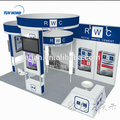 Detian Offer Portable Exhibition Booth Aluminum Modular Standard trade show exhibition Booth Display Stand