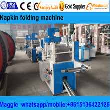 good performance tissue paper folding and color printing machine ,napkin packing machine