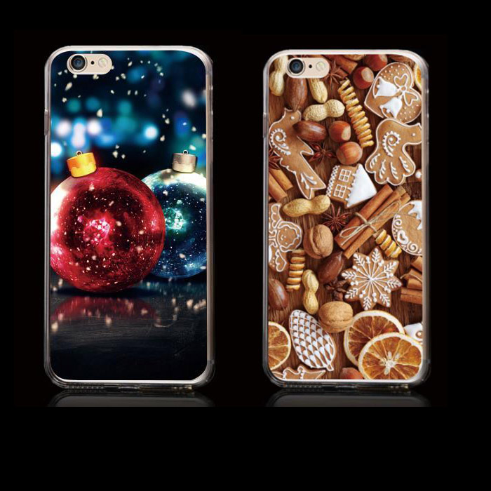Christmas Tpu Mobile Case for iphone 6 ,Custom Tpu Case