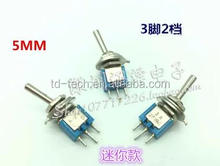 5MM toggle switch SMTS-102
