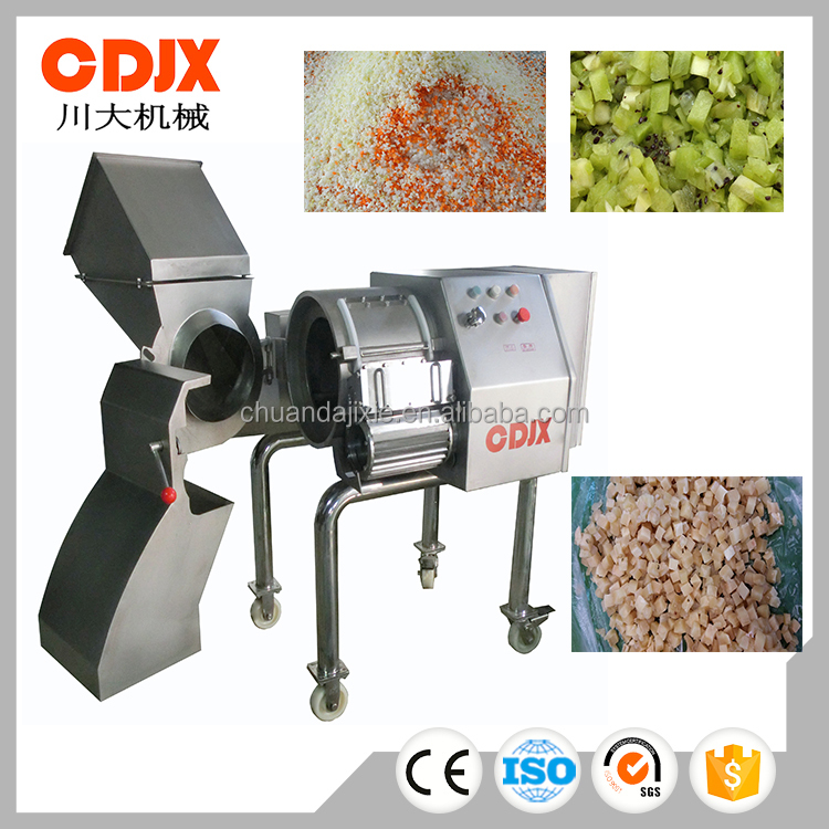 High speed durable automatic vegetables dicer machine