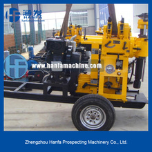 HF150 mini water well drilling rigs! hand water well drilling equipment