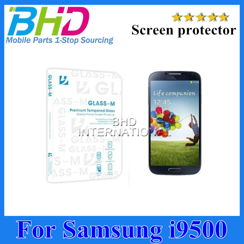 For Samsung galaxy S4 i9500 tempered glass screen protector