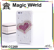 for blackberry z10 rhinestone heart shaped covers