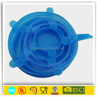 high quality flower shape silicone pot lid
