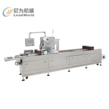 Touch screen type thermoforming machine and vaccum machine