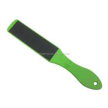 Wholesale Good Quality Colorful Plastic Handle Double Sides Foot File