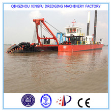 high efficiency diesel cutter suction dredger/hydraulic sand dredgers for sale
