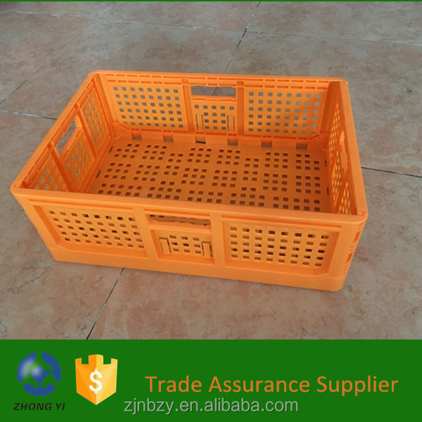 2017 wholesale portable foldable plastic shopping handle trolleys cart With Handle