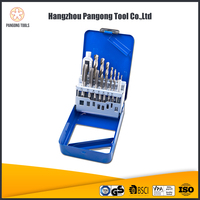 15pc High quality smart hand tool set tap and drill kit