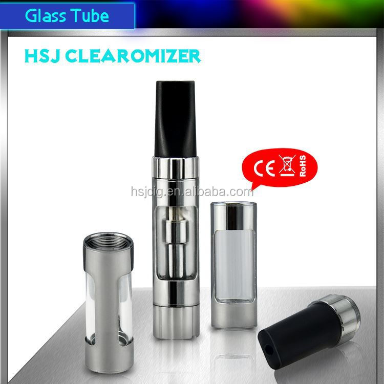 hsj electronic cigarette clearomizer metal powder atomizing equipment no leak 1473 510 thread