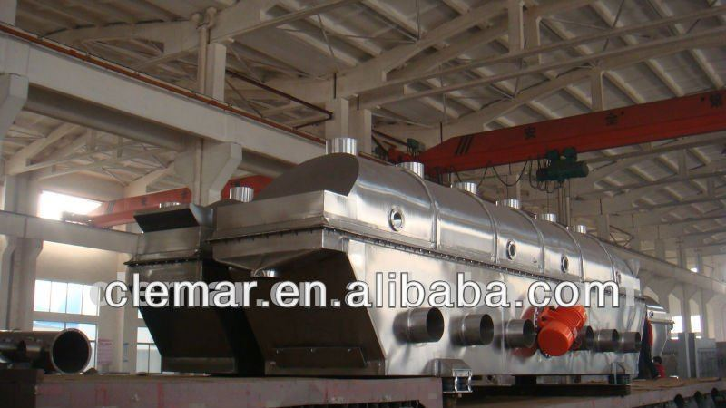Vibrating fluid bed dryer/fluidized bed dryer