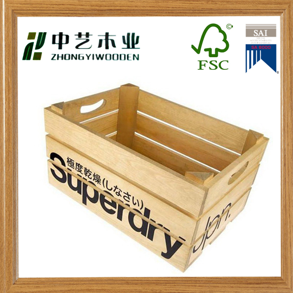 Wholesale new desig Cheap decorative wood carved wooden wine crate
