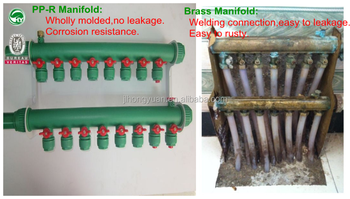 Plastic Manifold Better Than Copper Water Manifold Ppr