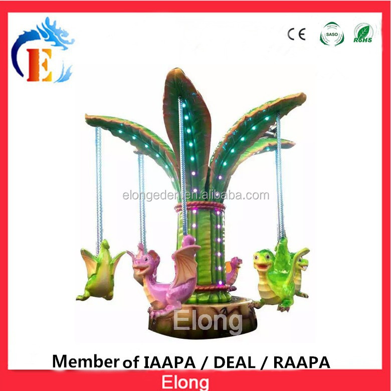 High quallity Space Tower flight pagoda Pterosaur park ride new arrival