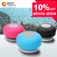 mini IPX4 waterproof wireless shower sucker bluetooth speaker