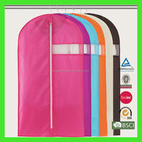 Alibaba China supplier Silk-screen printing non woven fabric garment bag with customized logo