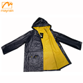 100% PVC adult rain jacket cheap waterproof men jacket