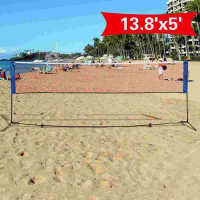 portable net foldable net with frame Badminton Net