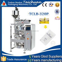 TCLB-320P Honey packing machine/automatic liquid sauce water pouch packing machine price
