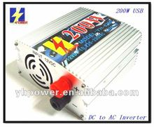 200w Automobile Vector Power Inverter with usb outlet