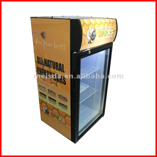 80L Supermarket Refrigerated Display Showcase