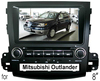 (for MITSUBISHI OUTLANDER) 8 inch 2 din auto DVD Player with GPS, bluetooth