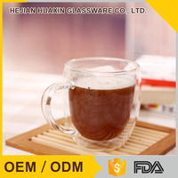 Hot Selling Fancy New Pyrex Glass Drinking Coffee Cup