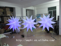 wedding elegant party decoration inflatable star