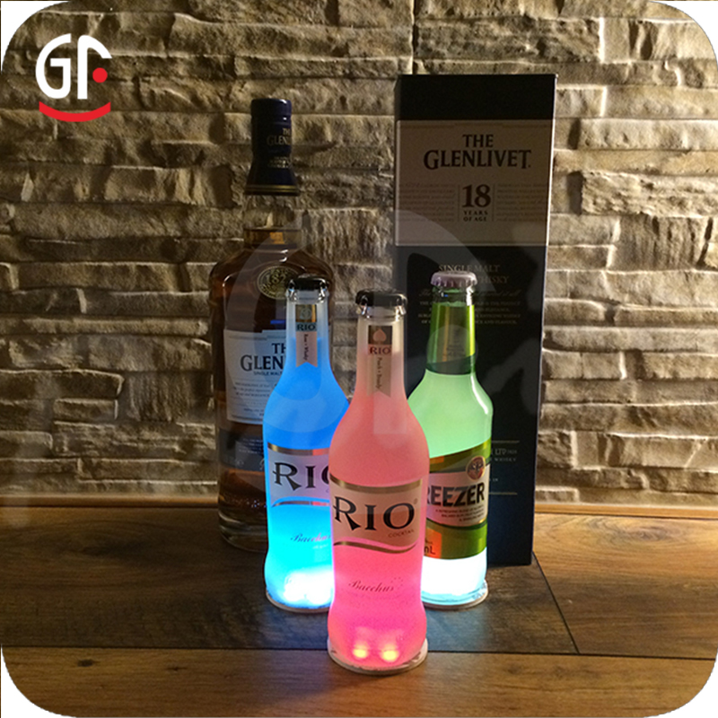 Novelty Products For Sell Customized Logo CE RoHS Lighted Wine Bottles