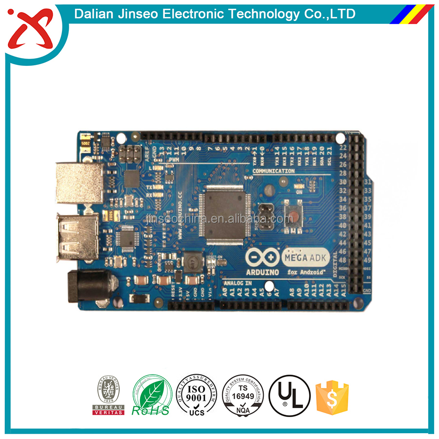 Double sided usb sd audio player circuit board