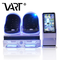 VART Super Fun Amusement Equipment High Appraised Beneficial 2 Seats 9D Virtual Reality Cinema