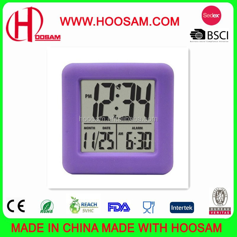 Wholesale cheap price Digital Alarm Clock, Promotional Silicone Alarm Clock, Gift Desk & Table Alarm Clocks