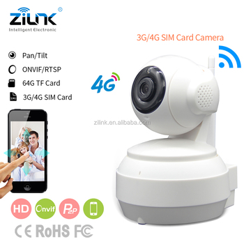 4g sim card Camera IP security