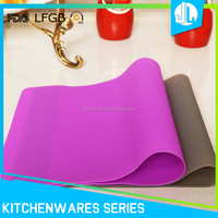 Wholesale cheap kitchen colorful non-stick colorful silicone baking mat