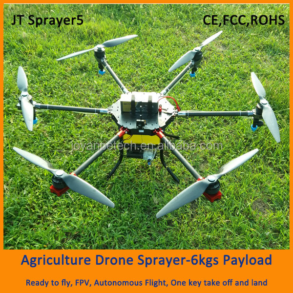 long flying time drone agriculture sprayer for pesticide spraying, uav drone crop duster