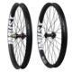 2016 New Carbon beadless wheelset 50mm wide 650b+ carbon wheels for 27.5 plus bikes tubeless compatible