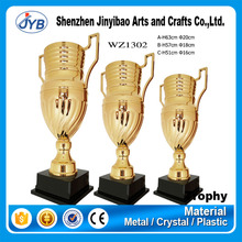 sports prize metal gold sport trophy champions league with handles